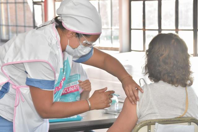 Más de 23 mil dosis se aplicaron en el distrito de Pehuajó.